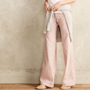 Pilcro and the Letterpress Pink Cotton Pants are